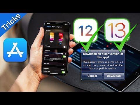 How To: Download the Older Versions of Apps in AppStore [ iOS 12.x.x-13.x.x ]   Jailbreak Tweaks