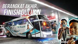 "PENUH KONVOY SERUU | Trip With HR 028 ""YA LATIF"" Po Haryanto (Kudus-Jakarta)"