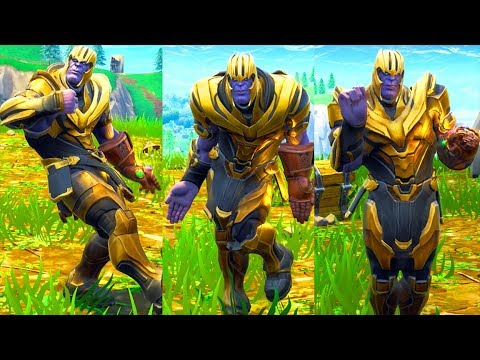 Fortnite's dancing Thanos meme makes you wonder if Marvel