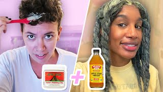 We Try Reviving Our Curls With Aztec Clay Masks