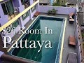 My $26 Room in Central Pattaya, Thailand - Eastiny Residence Hotel On Soi 10