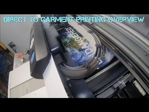 Full Overview Of DTG Printing (With Examples)