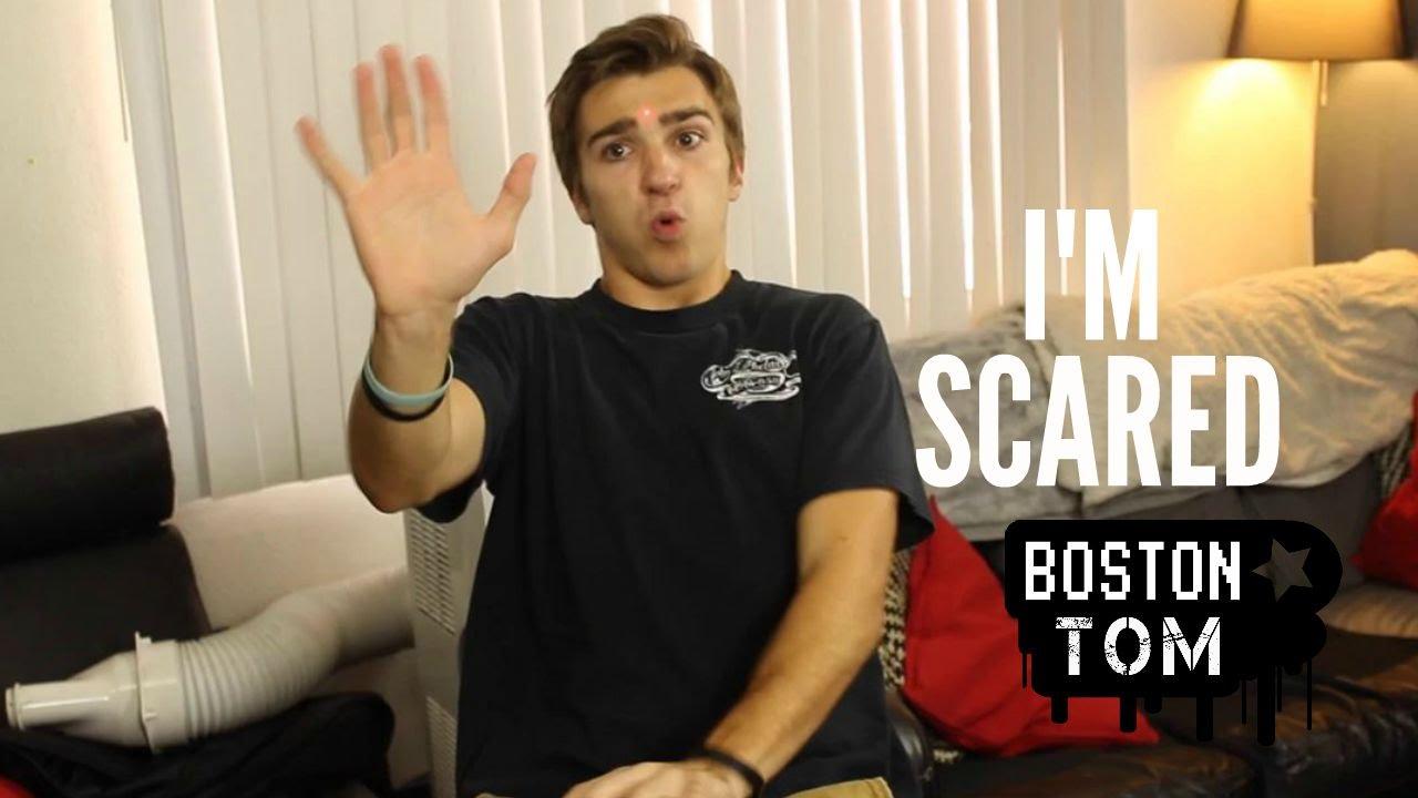 I'M SCARED (with Brian Redmon) -- Boston Tom - YouTube