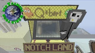 Minecraft Xbox 360 - Fed X Gaming World Tour Ep #2 (Notch Land)