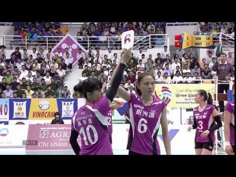 Ngân Hàng Công Thương (VIE) Vs Phúc Kiến(CHN):VTV Bình Điền Cup 2015[26/03/2015]