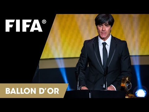 Joachim Löw: FIFA World Coach of the Year Reaction