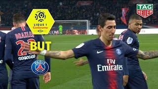 But Angel DI MARIA (45' +1) / Paris Saint-Germain-Montpellier Hérault SC(5-1)(PARIS-MHSC)/ 2018-19