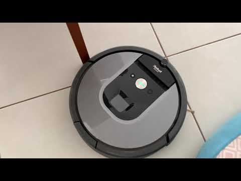 Review analise Irobot roomba 960