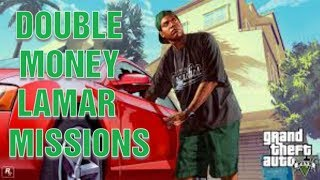 GTA 5: Double Money Lamar Missions