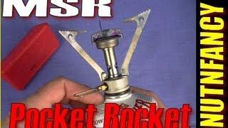 """""""MSR Pocket Rocket: A BEST STOVE"""" by Nutnfancy"""