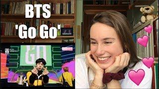 [REACTION] BTS - 'Go Go' @ Comeback Show