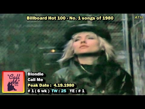 Billboard Hot 100 #1 Songs of 1980 1080p HD