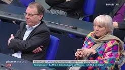 Finanzielle Lasten der Migrationspolitik: Bundestagsdebatte am 16.01.20