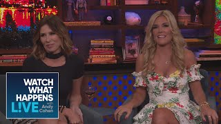 Carole Radziwill And Tinsley Mortimer On Luann D'Agostino Supposed Marriage Troubles | RHONY | WWHL