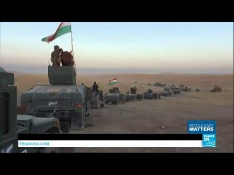 Iraq: alongside Kurdish troops making gains against IS Group in Mosul