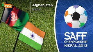 SAFF Championship Final Match 2013 - Afghanistan vs. India - Highlight.1
