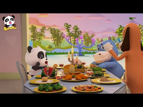 Baby Panda Visits Mr.Dao's Home | Magical Chinese Characters | Kids Cartoon | Baby Cartoon | BabyBus