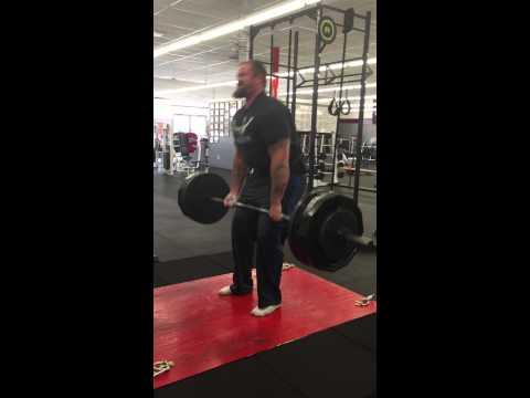 Josh T 465x10 dead lift