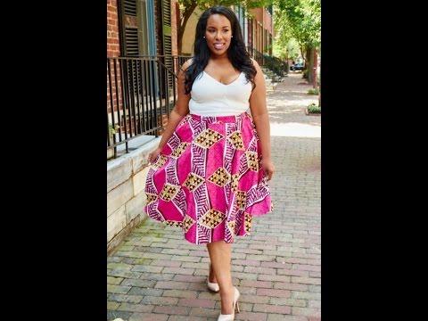 100 Plus Size Ankara Dresses and Maxi Ankara Skirt