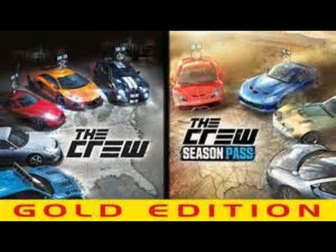 the crew gold edition racing unboxing playstation 4 720p. Black Bedroom Furniture Sets. Home Design Ideas