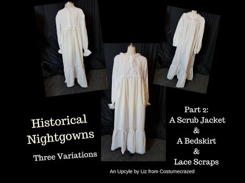 Historical Nightgown #2 (of 3) by Costumecrazed