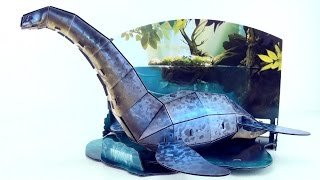 Plesiosaurus DINO 3D Puzzle - Dinosaur model of Plesiosaurus - 3D Dinosaurs Speed build