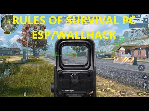RULES OF SURVIVAL (RoS) CHEAT/HACK (Wallhack) | FREE DOWNLOAD