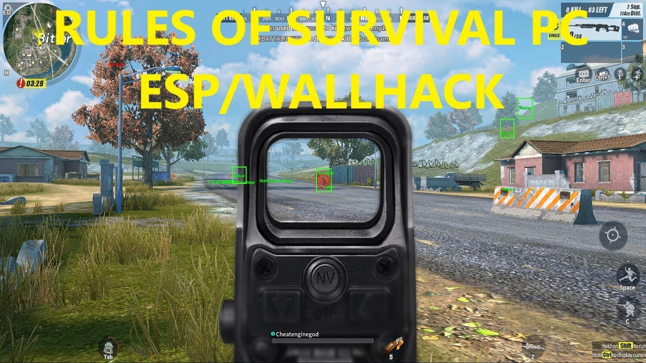 rules of survival need to copy the size of asset