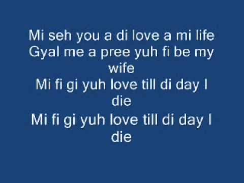 Yuh Love (lyrics) Vybz Kartel