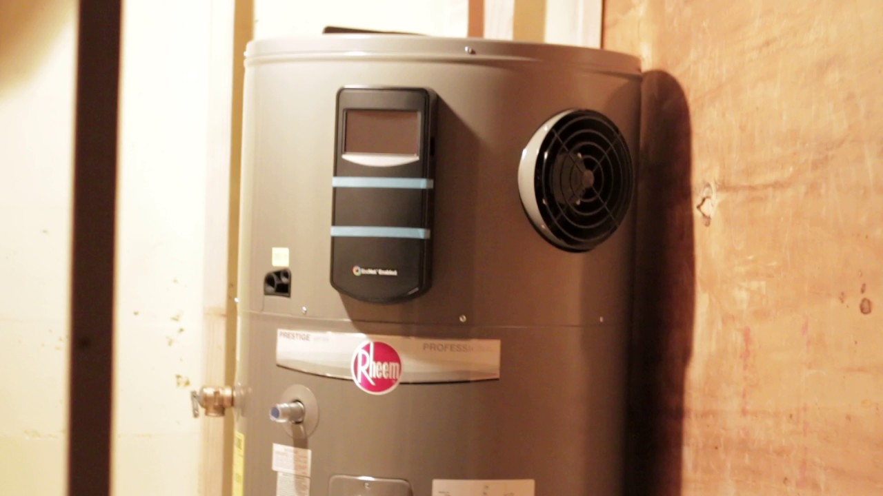 rheem performance platinum 80 gallon pump water heater