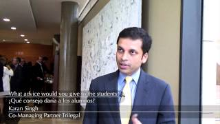 Karan Singh, Co-Managing Partner Trilegal talks about the future lawyer.