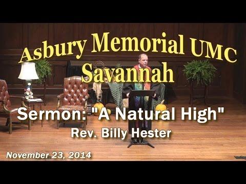 """Sermon: """"A Natural High"""""""