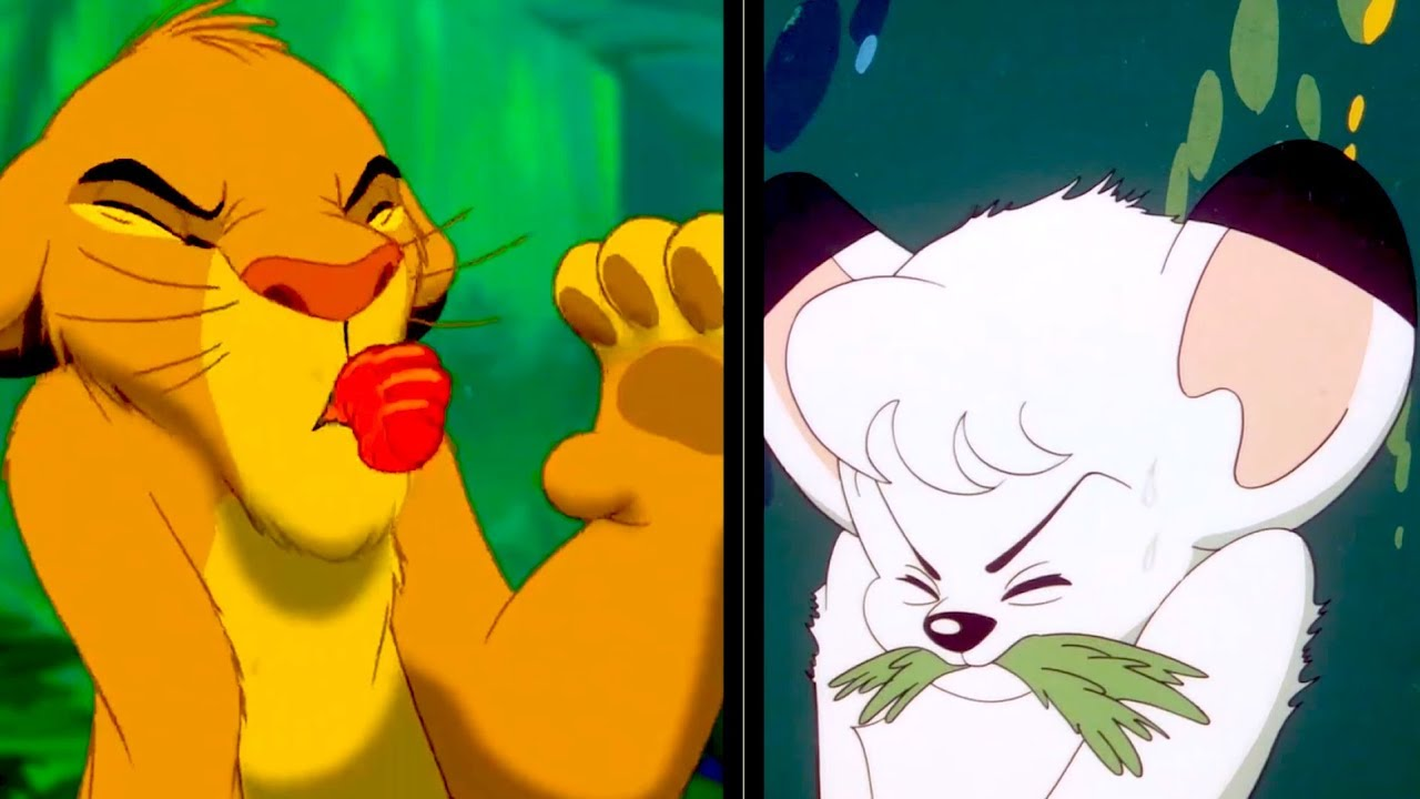 Kimba Amp The Lion King How Similar Are They 「ジャングル大帝」と