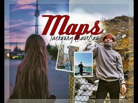 travel!au | taehyung ● maps ・゚✧ for PK's bday