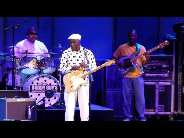 Buddy Guy Im 74 years Young Hollywood Bowl 8 21 13