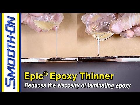 Epic® Epoxy Thinner Demonstration
