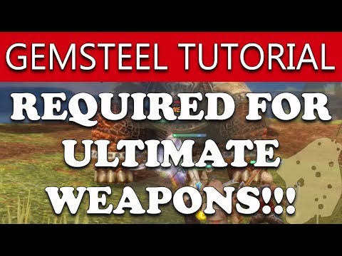 Final Fantasy XII The Zodiac Age How to Get 10x GEMSTEEL - FOR ULTIMATE WEAPONS