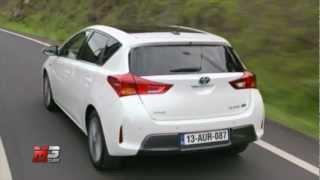 TOYOTA AURIS 2013 - TEST DRIVE