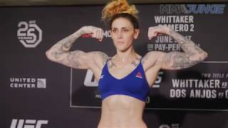 Megan Anderson makes weight for UFC 225