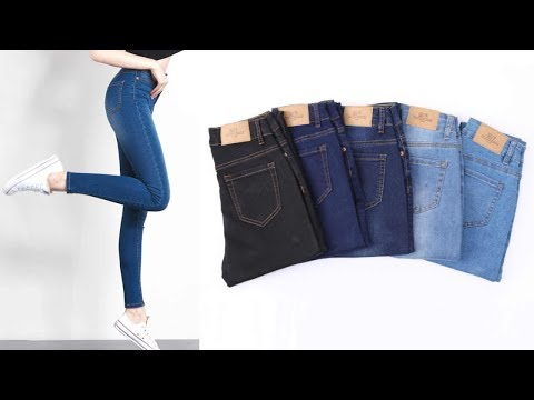 latest-high-waist-jeans-for-women-2019||denim-jeans-for-women-new-collection