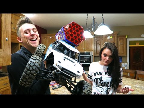 REMOTE CONTROL ROCKET LAUNCHER!!