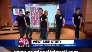 elenco de west side story no gdla
