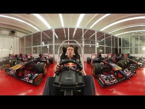 Singapore GP - Daniil Kvyat 360 hotlap - Scuderia Toro Rosso
