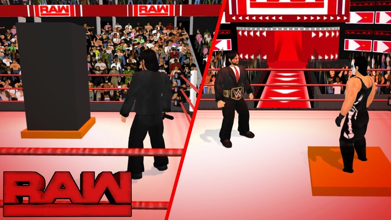 Sting ambushes Triple H and Seth Rollins - Raw | WR3D