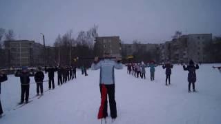 Урок по лыжной подготовке 4 класс