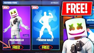 Fortnite how to get the Marshmallow for [FREE] Plus V bucks glitch %100 Working