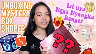 Unboxing  Mystery Box Shopee Shopee Haul