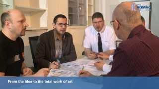 Штучное производство офисной мебели на фирме Hali в Австрии(Свежая и креативная офисная мебель -- этим занимается австрийская фирма Hali. 48 миллионов вариантов за 15 рабо..., 2013-11-05T07:08:18.000Z)