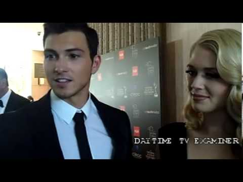 'All My Children': chatting with Rob Wilson and Brooke Newton at Daytime Emmy Awards (Video)