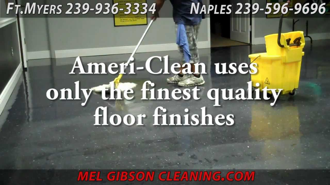 Commercial Floor Maintenance Scrubbing Stripping Waxing Finishing
